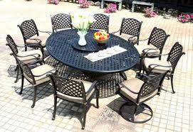 patio dining set cast aluminum outdoor