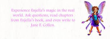 Enjella The Elbow Fairy spreads her magic! Meet Enjella, her author ...
