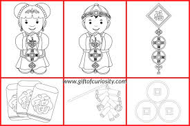 Small Picture Chinese New Year coloring pages Gift of Curiosity