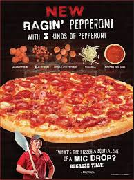 toppers pizza unleashes triple the pepperoni with ragin pepperoni
