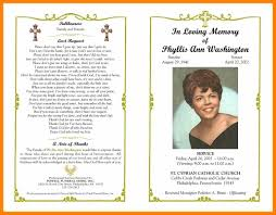 Free Obituary Program Template Outstanding Free Obituary Program Template Crest Documentation 1