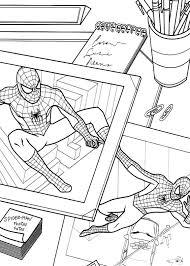 Disegni Da Colorare Di Spiderman Uomo Ragno