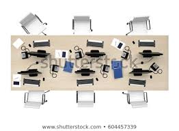 office table top view. Delighful View Office Table Group Work Top View Isolated On White 3d Rendering With Office Table Top View C