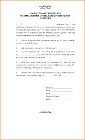 Certify Letter For Visa Application Employment Certification Sample