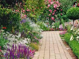 Fond D Cran Jardin Fleuri Jardin Fleuri