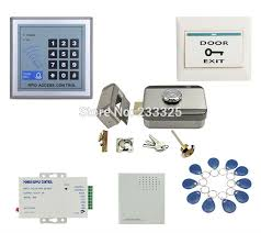 online buy whole rfid door access control manual from id rfid access control system kit set electric motorized noise door lock strike deadbolt