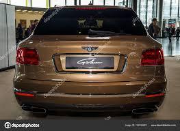 Large luxury crossover SUV Bentley Bentayga, 2016. – Stock ...