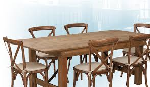 and when you upgrade your greasy spoon to a fine dining elishment you re gonna need some new tables restaurant tables