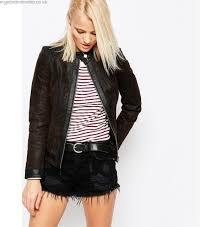 leather jean senka barney s originals suede by car jacket w women asos x biker