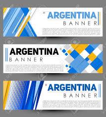 Argentina Banner Design Argentina Modern Banner Template Vector Set Design