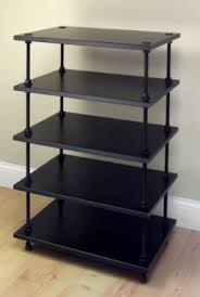 Amazon.com: Salamander - Archetype 5.0 Five-Shelf Audio Rack ...