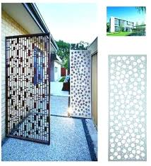 perforated metal screen. Decorative Metal Screen Panels Photo 8 Of 9 Aluminum Panel Perforated Fence