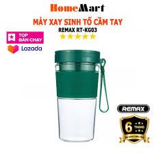 Máy Xay Sinh Tố cầm tay Remax RT-KG03 (Hàng chính hãng - Bảo hành 6 tháng)  - HomeMart