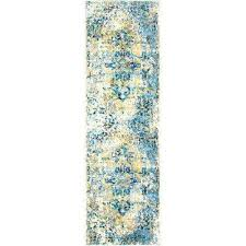 shabby chic heritage brandt gray blue 2 ft 2 in x 7 ft