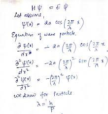 schrodingers wave equation
