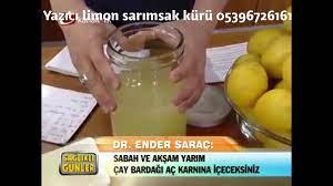 Yazıcı Yöresel - Ender SARAÇ limon sarımsak kürünü...