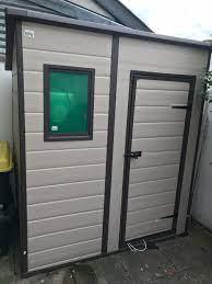 plastic 6 x 4 argos plastic keter shed
