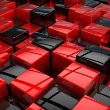 3d Wallpaper Black And Red