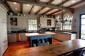 40 Elements To Utilize When Creating A Farmhouse Kitchen Awesome Country Farmhouse Kitchen Designs