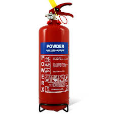 budget 2kg powder extinguisher