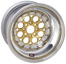 weld magnum import drag racing wheels gold 13x9 4x100 racing civic