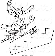 stairs clipart black and white. Contemporary Black Running Stairs Clipart With Black And White E