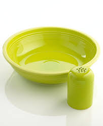 fiesta pasta bowl. Unique Pasta Fiesta Pasta Set With Bowl And Shaker Color Lemongrass With