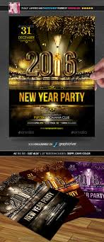 flyers ticket prices new year party poster flyer by minkki graphicriver