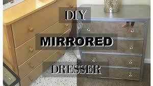 diy mirrored furniture. DIY MIRRORED DRESSER | FT. FLOWER BED CANVAS Diy Mirrored Furniture