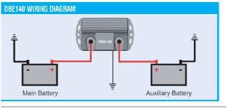 mercruiser alternator wiring in dual battery isolator need some Twin Alternator Wiring Diagram click image for larger version name piranha dbe140 wiring jpg views 1 size dual alternator wiring schematic