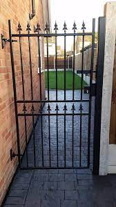 metal side gate enhances security to