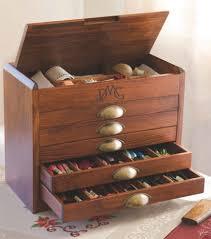 Dmc Thread Cabinet Dmc Wooden Collectors Box With Full Range 465 Dmc Threads 7600