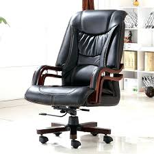 wood office desk chair wood office desk chair executive bonded leather office chair swivel legs wood