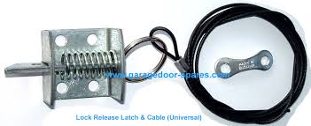 garage door latchHenderson Lock Cable and Release Latch  Garage Door Spares