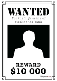 Make A Wanted Poster Free Online Power Points For Poster Making Workshop Template Competition