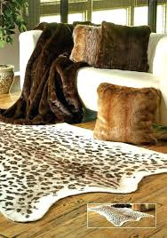 animal print rugs leopard rug hide picture inspirations faux cowhide for buffalo hide rug
