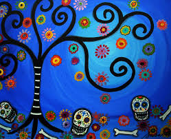 mexican folk art paintings by pristine cartera turkus