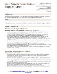 Accounts Payable Resume Stunning Accounts Payable Assistant Resume Samples QwikResume