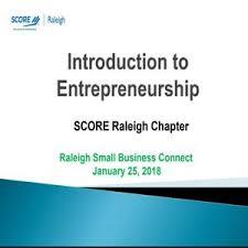 Introduction To Entrepreneurship Introduction To Entrepreneurship Score