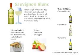 Sauvignon Blanc Easy Appetizer And Dessert Pairings Food