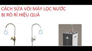 Cách sửa các loại Vòi máy lọc nước bị rò rỉ nước - YouTube