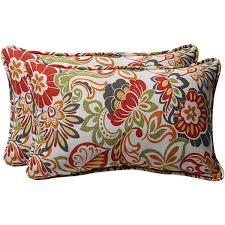 pillow perfect green multi floral outdoor toss pillows set of 2 outdoor throw pillows r19