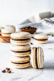 Pulse the mixture to a fine powder, and sift. Full Cravings Vegan Coffee Macarons