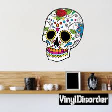 vinyl decal sugarskulluscolor037et