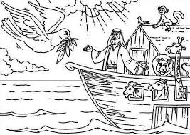 Best Noah And The Ark Coloring Pages 13 With Additional Free