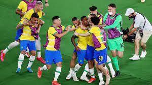 شاهد فيديو اهداف البرازيل واسبانيا في اولمبياد طوكيو 2020.. مالكوم يجلب  الذهب للسيليساو بالقاضية - الشامل الرياضي
