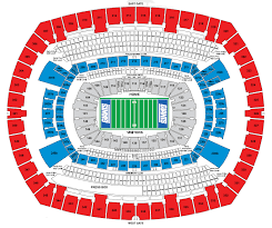 Meadowlands Seating Chart Stadium Seat Flow Charts