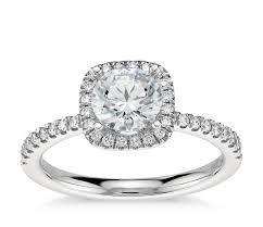 arietta halo diamond engagement ring in platinum 1 5 ct tw