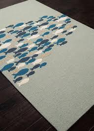 beach house rugs indoor go fish cameo green blue indoor outdoor rug beach decor coastal decorating a studio apartment photos