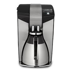 mr coffee optimal brew 12 cup programmable coffee maker with thermal carafe bvmc
